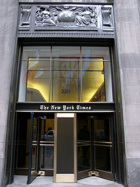 The_new_york_times_building_in_new_york_city