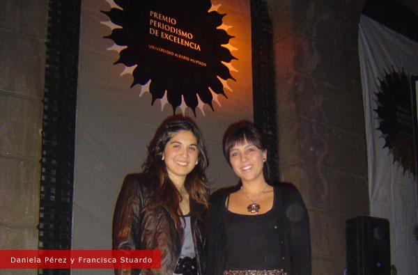 Daniela Pérez y Francisca Stuardo