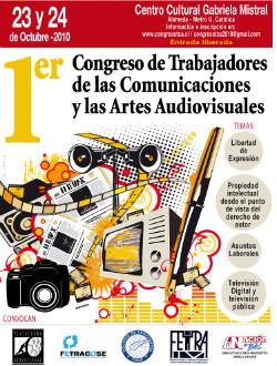 Afiche Congreso Audiovisual