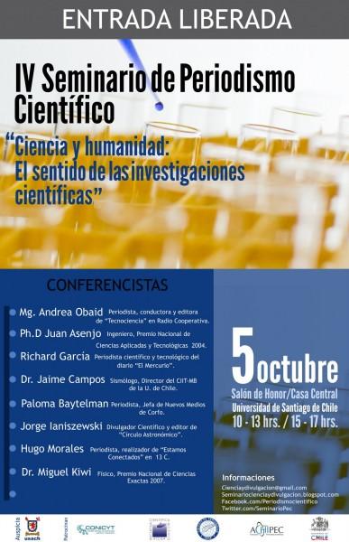 Afiche IV Seminario