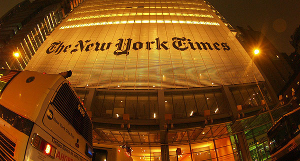 The New York Times - alextorrenegra [Flickr]