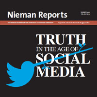 Truth in the age of social media