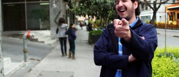 Luis González, creador de @Televisivamente. Foto: Tamy Palma.