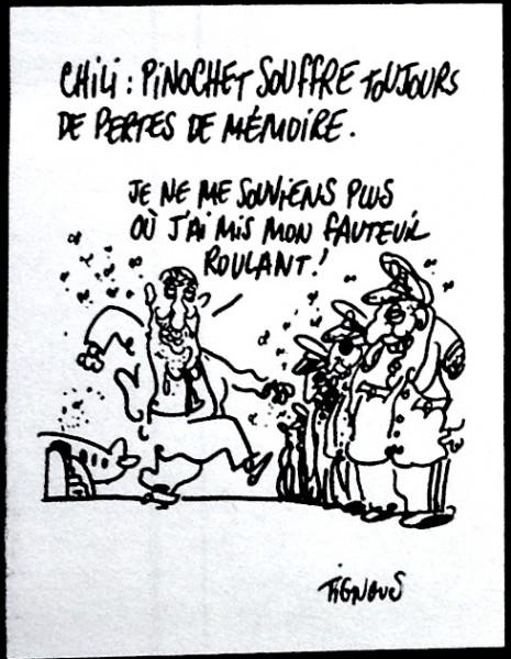 Caricatura de Tignous, 2000.