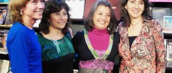 Elizabeth Rendic, Valentina Álvarez, Gina Cerda y Vivian Lavín. Foto: Liberalia.