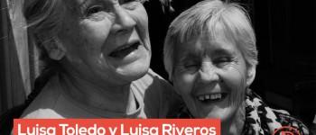 Las dos Luisas. Foto: Álvaro Hoppe