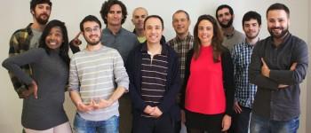 El equipo del Observatorio de Nuevos Medios. Foto gentileza de Marga Cabrera