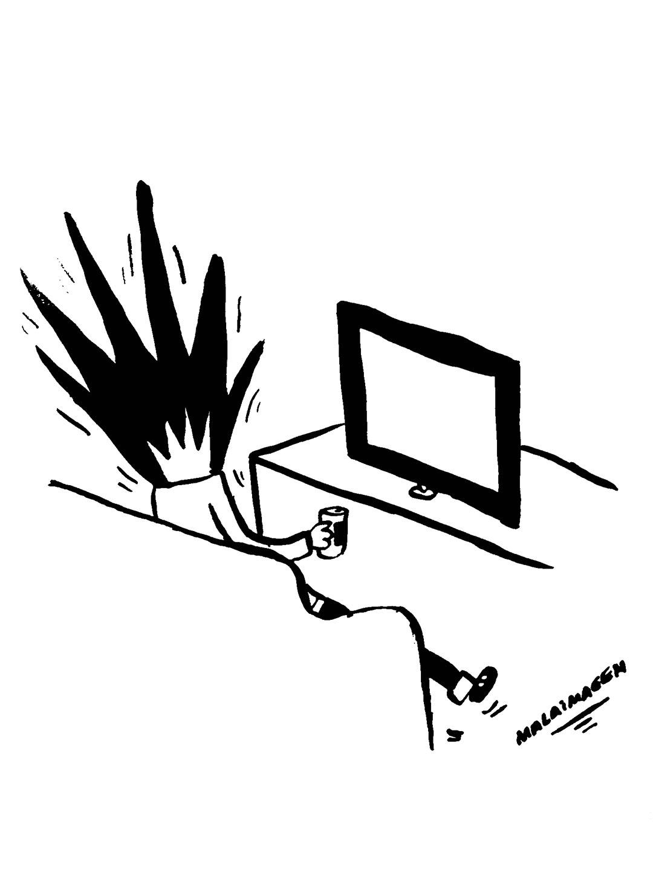 """Malaimagen dibujó esta """"Explosión mediática"""""""