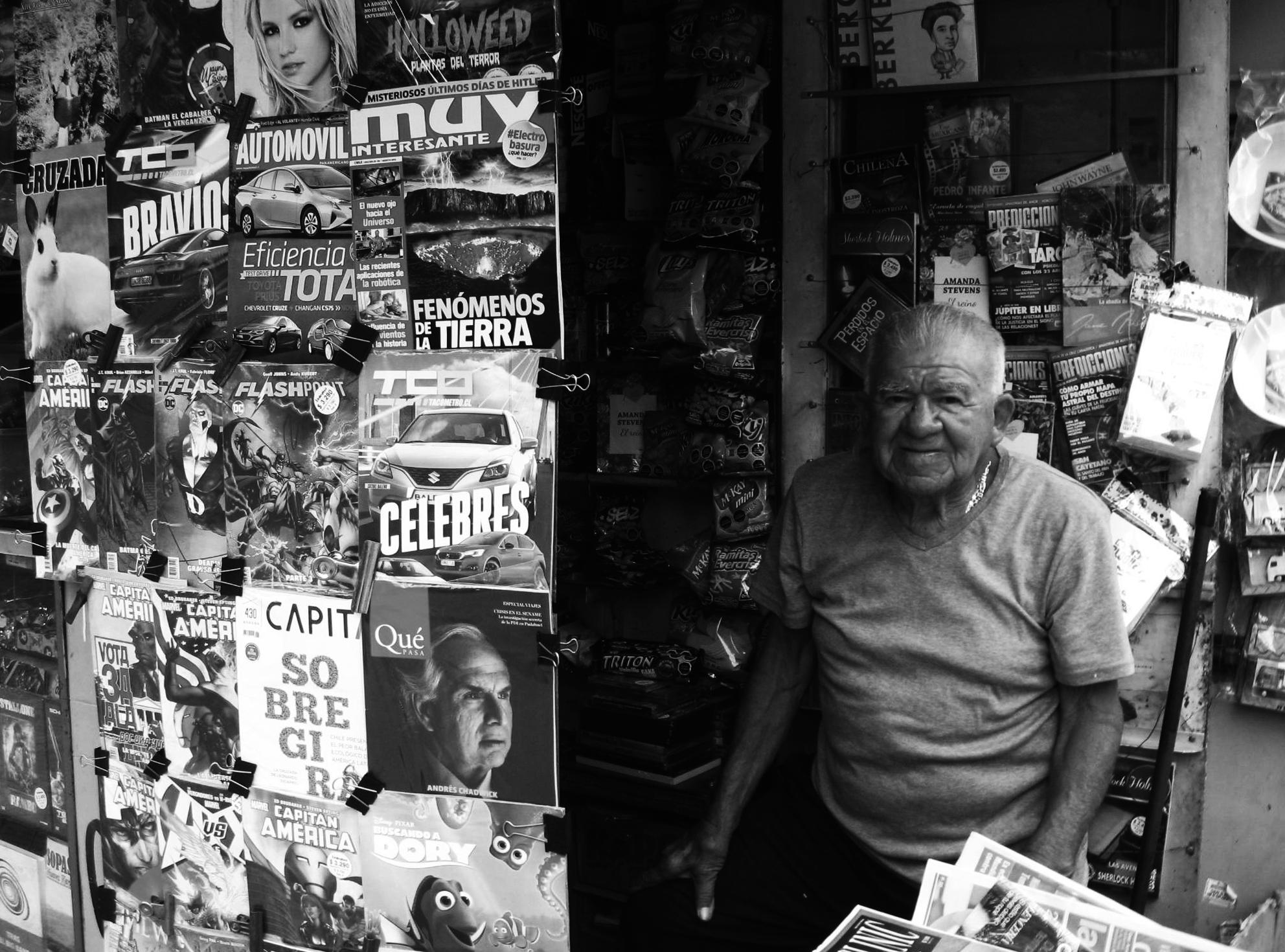 Tito Hormazábal. Foto: Eduardo Andrade.