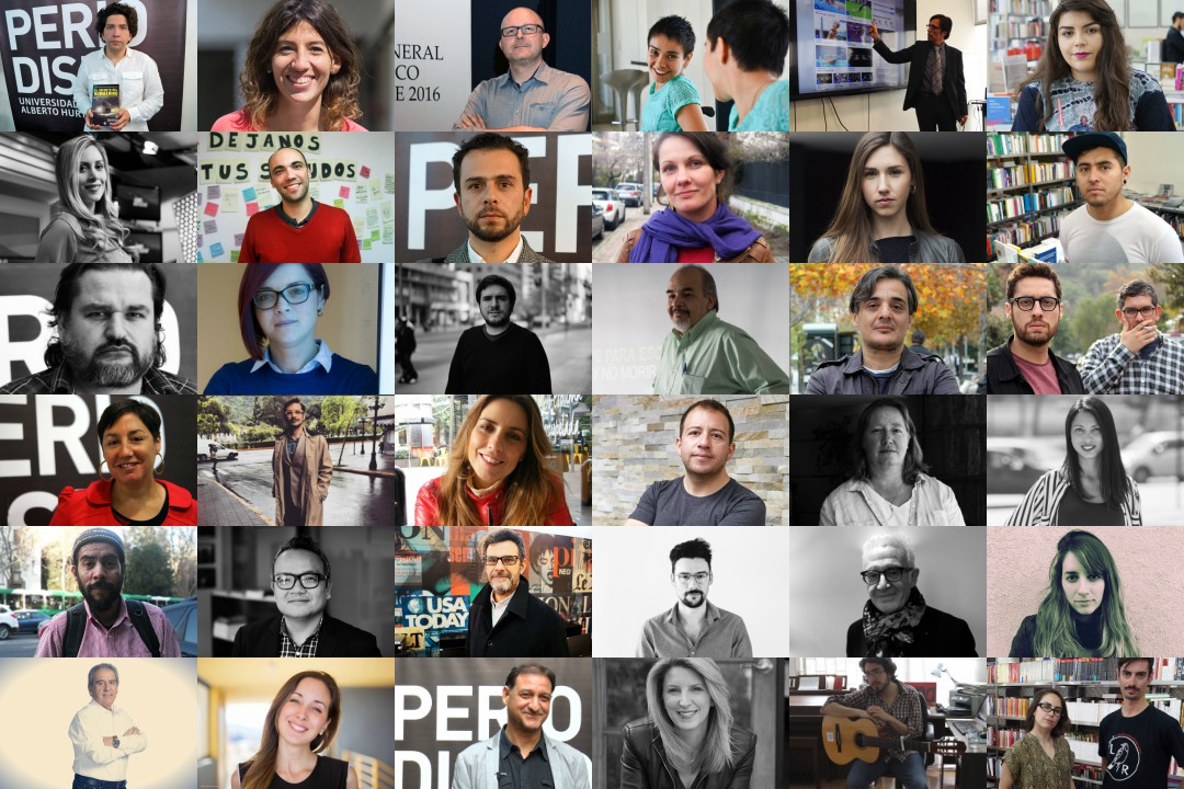 36 de las 51 entrevistas que hicimos el 2016.