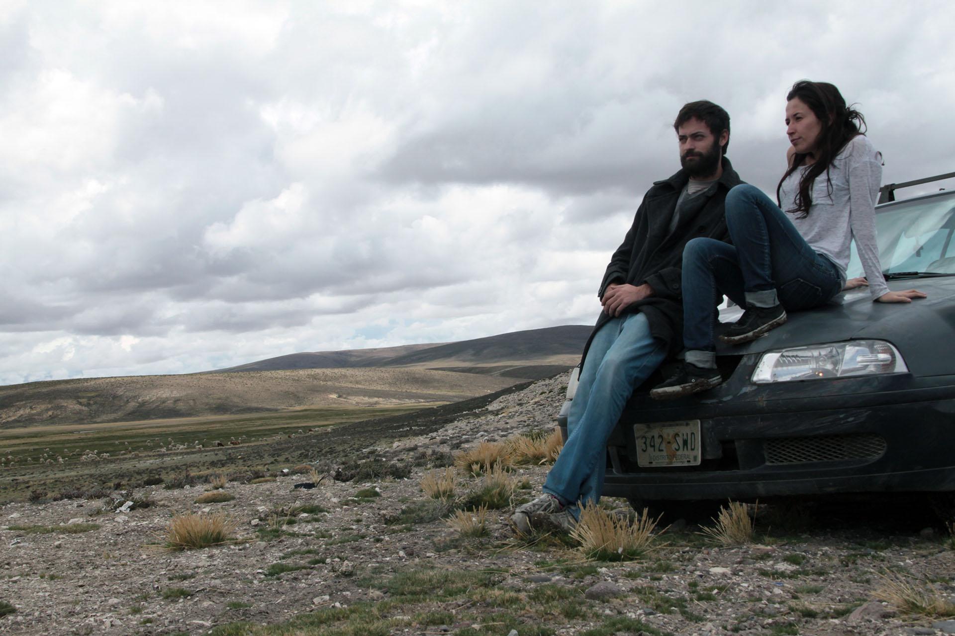 José Luis Pardo y Alejandra Sánchez Insunza, directores de Dromómanos.