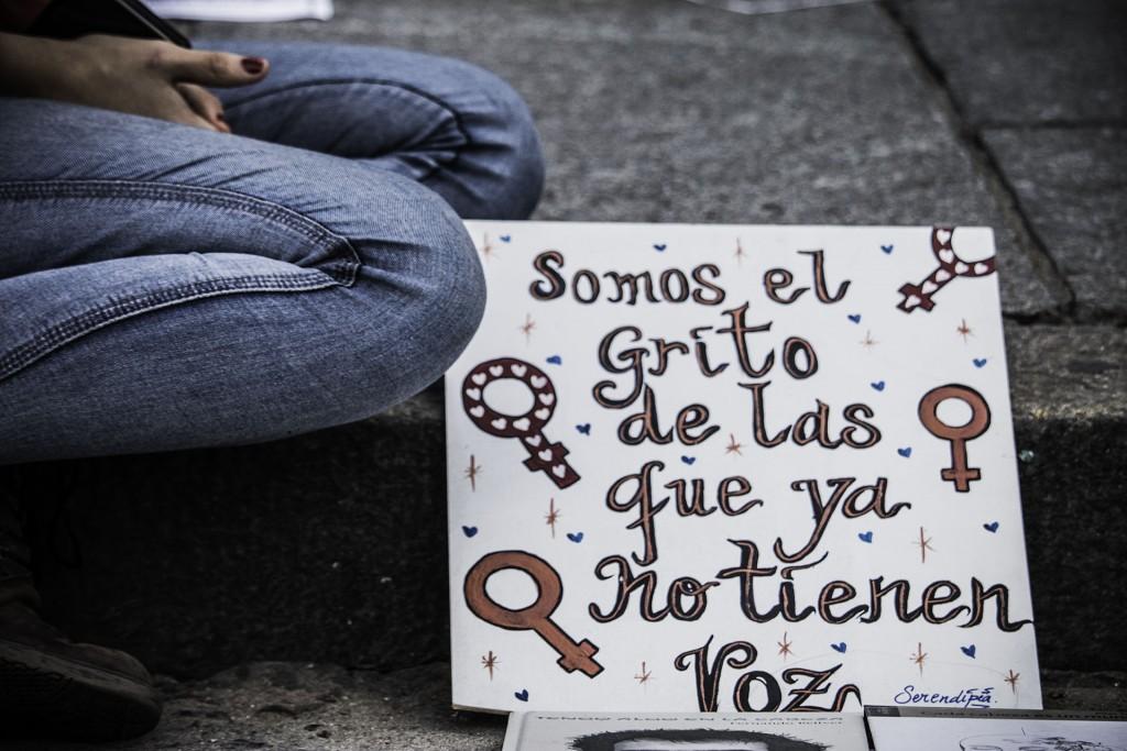 Marcha contra la violencia de género en Buenos Aires, Argentina, 3 de junio de 2017. Foto: Paulakindsvater, Wikimedia.