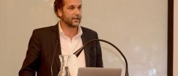 Carlos Guyot, director de Next Idea Lab. Foto gentileza de Facultad de Comunicaciones UC.