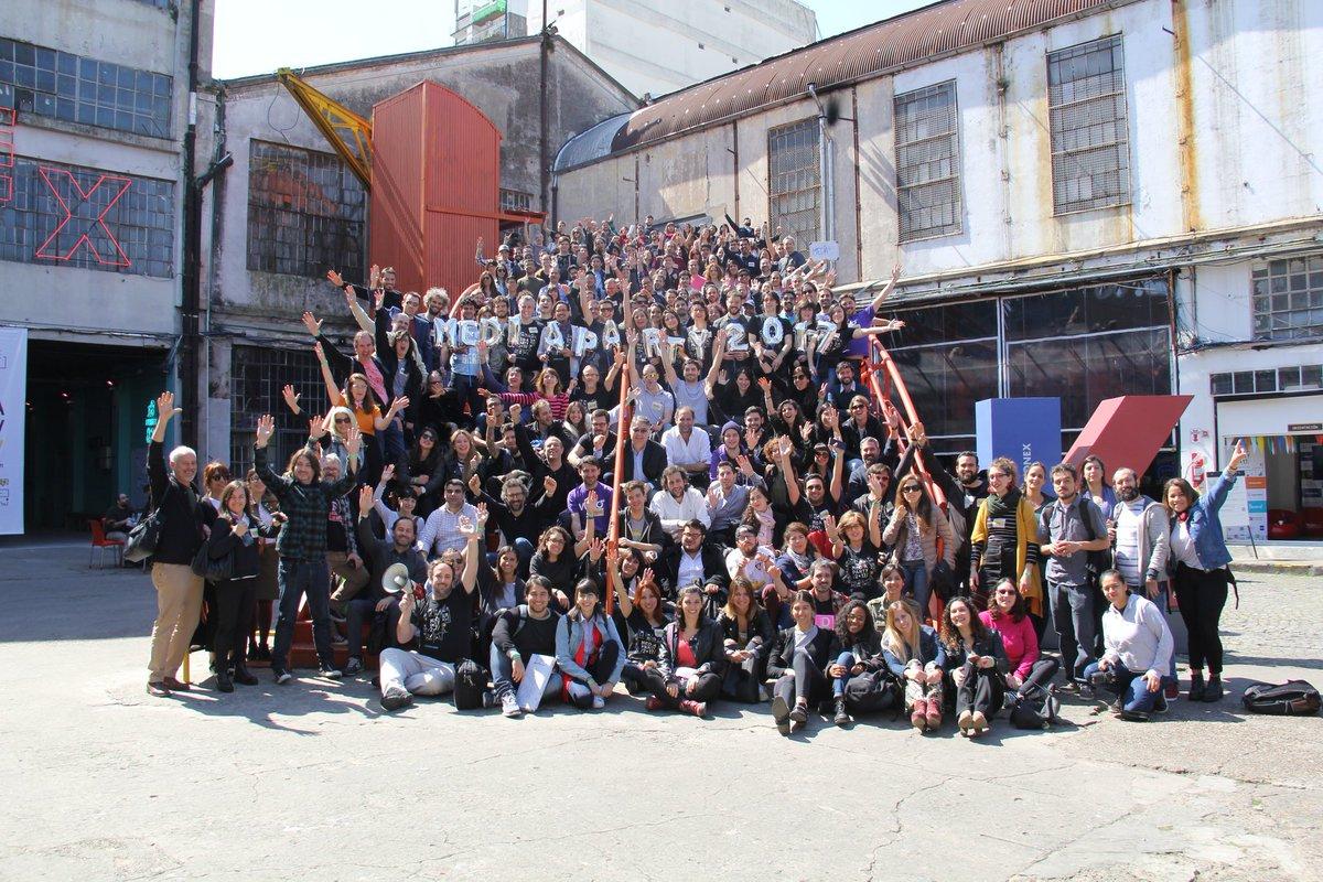 Participantes de la Media Party 2017 en Argentina.