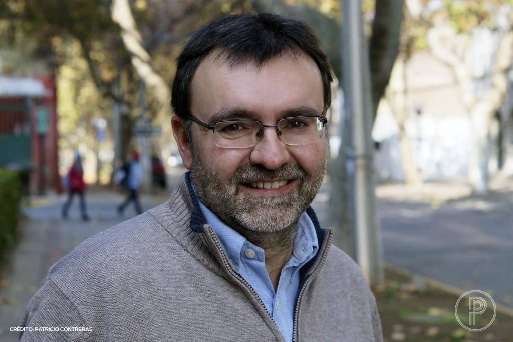 Ismael Nafría visitó Chile a principios de junio de 2018 para participar de la III Cumbre del Periodismo organizada por la Universidad del Desarrollo. Foto: Patricio Contreras