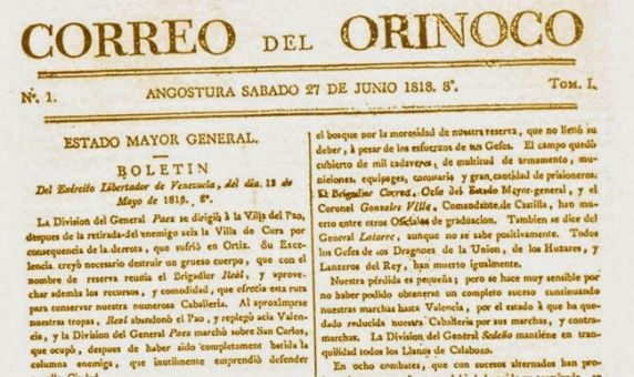 Correo del Orinoco.