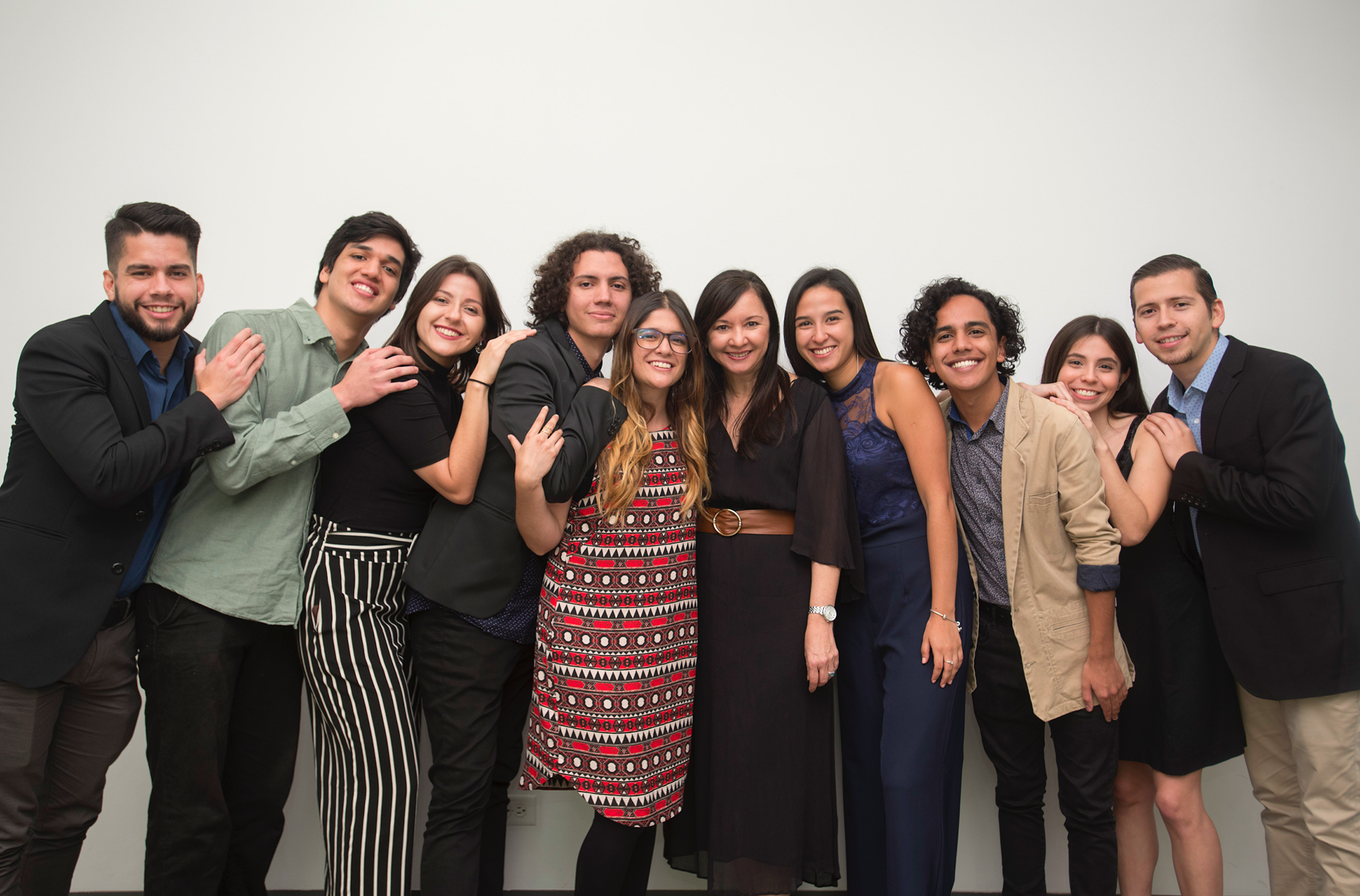 La clase 2018 de Punto y Aparte. Foto: Eyleen Vargas.