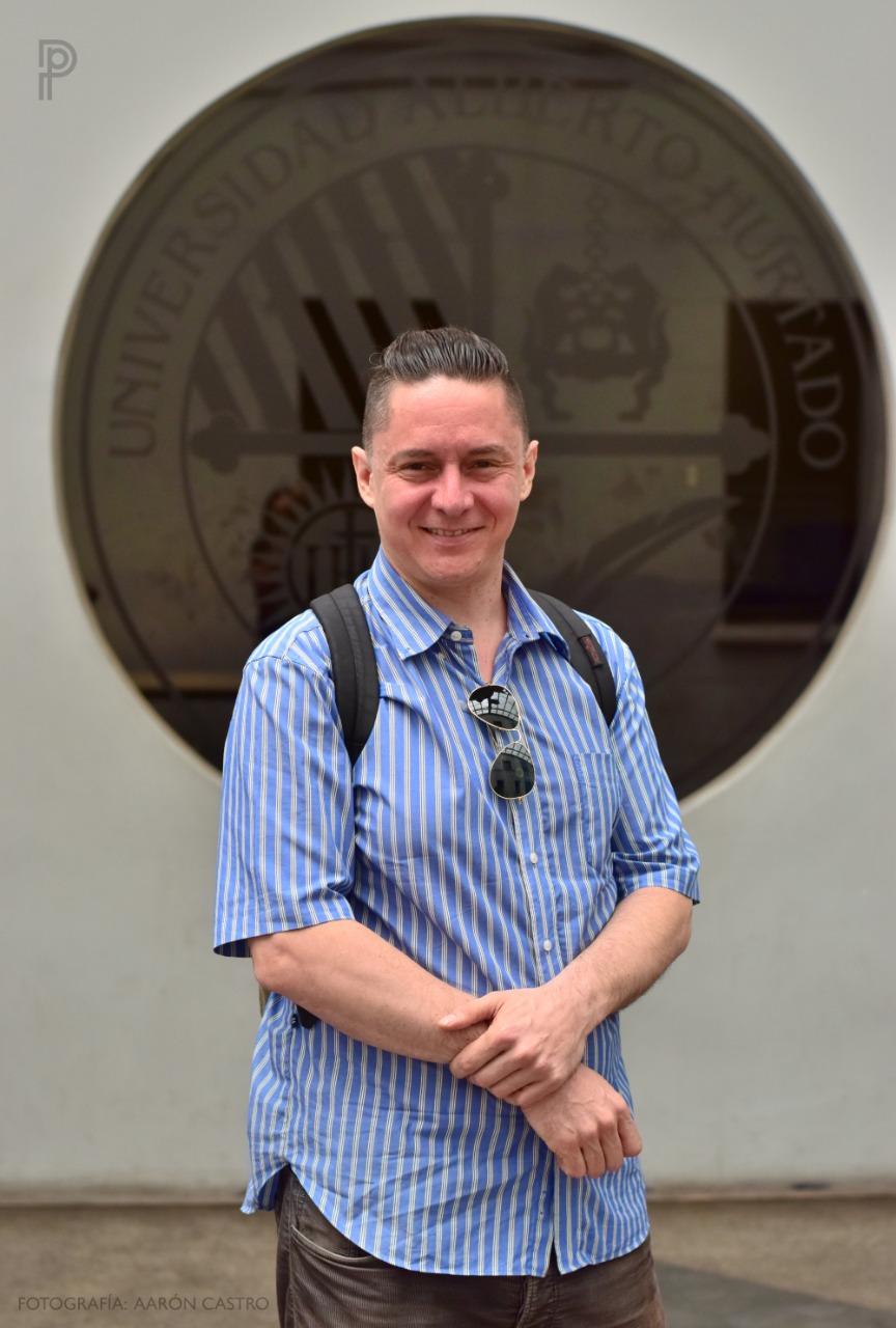 Andrés Almeida, editor general Interferencia. Foto: Aarón Castro