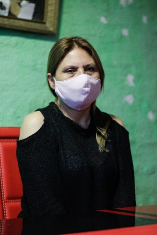 Paola Martínez, tía de Mario Acuña.