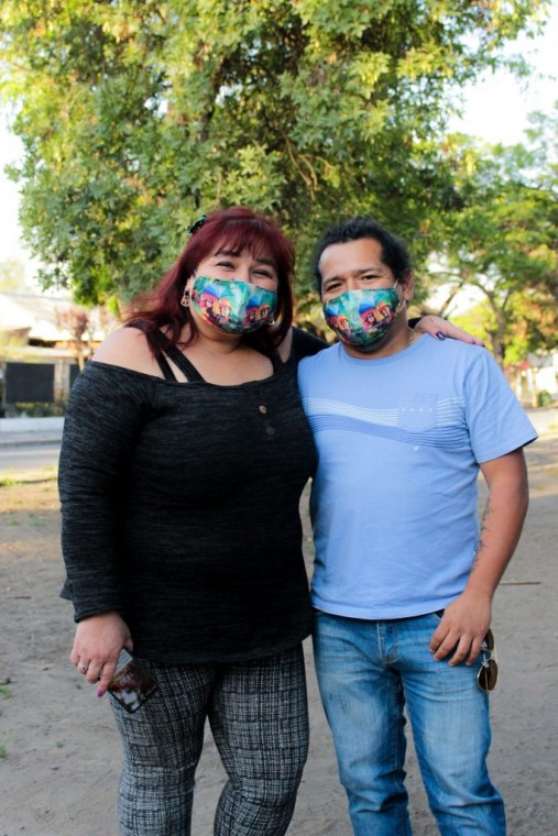 """Mariana y Bernardo, """"El Hada y el Duende Mágico""""."""