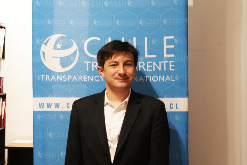 Alberto Precht, director de Chile Transparente y académico de la cátedra de Derecho a la Información en Periodismo UAH.
