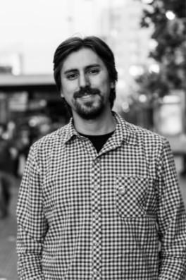 Patricio Contreras, periodista y creador del boletín Sala de Herramientas. (Foto: Pablo Baeza Contreras)